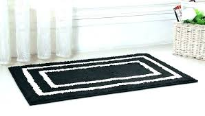 black and white bath rug striped bathroom mat set sets gray creative black and white bath rug