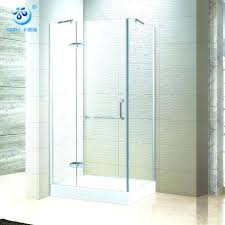 hinged glass shower door hinged glass shower door rectangle hinged glass shower doors swinging glass shower