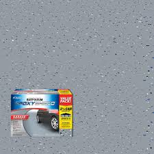garage floor paint kit. Brilliant Paint Gray 2Part HighGloss Epoxy Garage For Floor Paint Kit The Home Depot