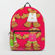 gingerbread woman cookies. Contemporary Gingerbread Gingerbread Men And Woman Cookies Backpack For I
