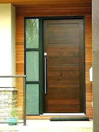 modern exterior front doors modern wood front door modern wood and glass front doors modern wooden