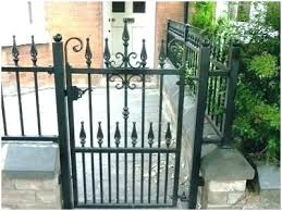 metal garden gates decorative wrought iron gates beautiful custom house gate outdoor metal garden gates for