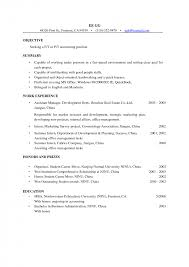 Cosmetologist Resume Objective Cosmetology Resume Sample Image Result For Sample Resume Objectives 10