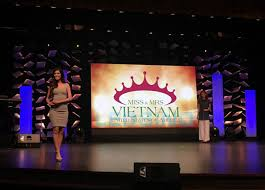 Beauty Pageant Stage Design Led Backdrop Rental Display Beauty Pageant Backdrop Ledsino