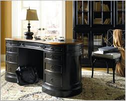 elegant home office. Elegant Home Office Design Idea With Black Desk White Lamp And Chair Seat Cushion Fancy Ideas