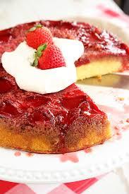 Strawberry Upside Down Cake Southern Bite