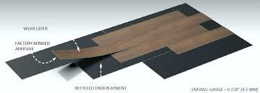 vinyl cork underlayment plank flooring ideas luxury reviews installation cost best stunning