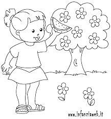 Disegni Da Colorare Categoria Estate Immagine Estate Infanziaweb