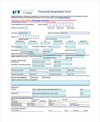 Requisition Form Template 11 Free Pdf Documents Download