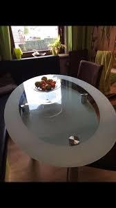 Glastisch Esstisch Oval