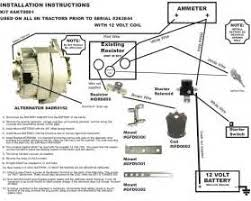 n wiring diagram front mount images where can i a wiring ford tractor 6 volt or 12 volt conversion