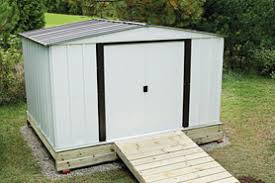 Small Picture Building a Metal Shed The Home Depot Canada