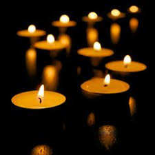 Image result for tealights in cross formation
