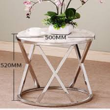 modern rose gold side table marble top furniture tables chairs on carou