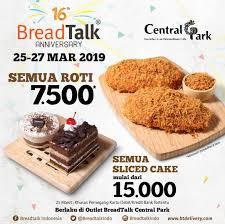 Breadtalk Central Park Mall Jakarta