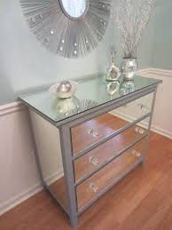 diy mirrored furniture. mirrored dresser silver upcycled ikea 3 drawer mirroredjewels with furniture diy