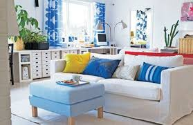 ikea furniture colors. Ing Surfboard Table Design Blue Wall Paint Color Ikea Living Rooms Room White Long Sofas Wood Coffee Black Large Floor Dark Hanging Furniture Colors