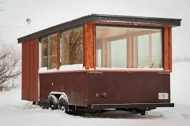 Small Picture Towable Tiny House Cabin On Wheels
