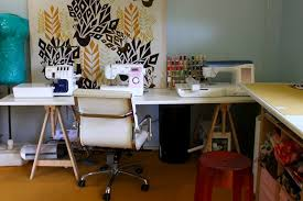 The Craft Room Redesign Project DIY Sewing & Cutting Tables