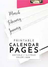 Printable Event Calendar New To The Organization Toolbox Printable Calendar Pages