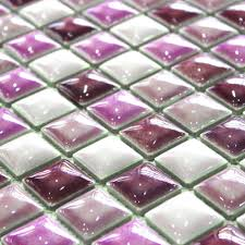 Purple Kitchen Backsplash Aliexpresscom Buy New Style Purple Ceramic Mosaic Tile Kitchen