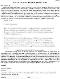letter of rebuttal sample disciplinary letters educator fights back