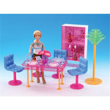 Miniature Furniture Fashion Dining Room for Barbie Doll House Classic Toys  for Girl Free Shipping-in Dolls from Toys & Hobbies on Aliexpress.com |  Alibaba ...