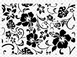 tumblr background black and white pattern. Modren Tumblr Hibiscus Tiled Background By Pints1ze  Cute Black And White Tumblr  Patterns Inside Pattern