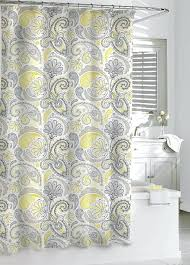 gray yellow shower curtain scintillating grey and aqua shower curtain gallery best idea grey yellow white