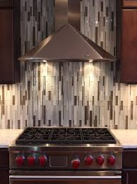 Vertical Tile Backsplash Design