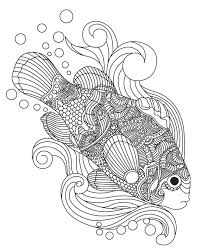 Fish Colorish Coloring Book For Adults