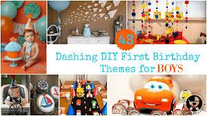 Diy First Birthday Boy Decorations