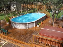 above ground pool decks. 42 Above Ground Pools With Decks \u2013 Tips, Ideas \u0026 Design Inspiration - Outdoor Chief Pool P