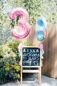 This chalkboard welcome sign can be adapted for any party! This just  happens to be