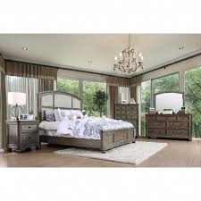 King Bedroom Sets Jeromes Furniture Of America Fenemi Rustic 4 Piece ...