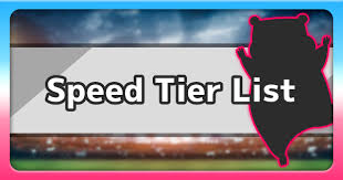 Sword Shield Speed Stats Tier List Pokemon Sword And Shield