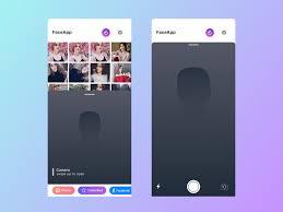 Face Design App Faceapp By Pardaev On Dribbble