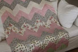 Down Home Chevron Baby Quilt | FaveQuilts.com & Down Home Chevron Baby Quilt Adamdwight.com