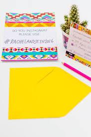 printable wedding invites bespoke bride wedding blog aztec festival printable wedding invitation hashtag instagram poster 4