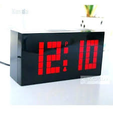 digital office wall clocks digital. Wall Clocks For Office Digital Large Jumbo Led Snooze Desk Alarm . S
