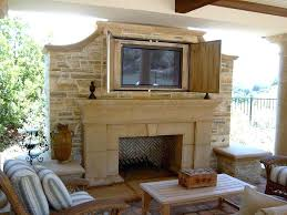 outdoor fireplace with tv covered patio designs enclosed porches fireplaces pavilion design