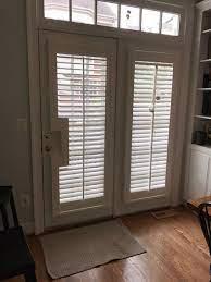 installing shutters on patio doors