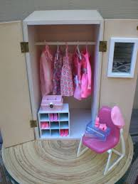 barbie furniture for dollhouse. barbie doll house pink wardrobe vignette room furniture u0026 accessories bedroom closet clothes 4000 for dollhouse t