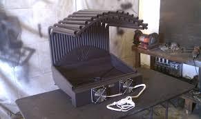 custom fireplace grate heater by hastyheat