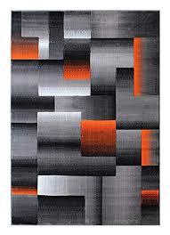 orange and grey area rugs masada rugs modern contemporary area rug orange grey black 8 feet orange and grey area rugs