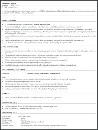 Entry Level Office Assistant Resumes Administrative Assistant Resume Objectives Resume Samples