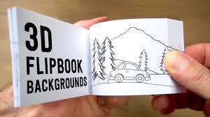 Flip Book With Photos How To Make 3d Flipbook Backgrounds Parallax Effect Youtube