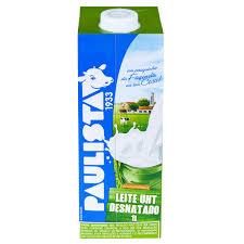 leite desnatado paulista