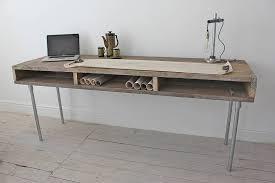 reclaimed wood office. Ellie Reclaimed Wood Desk With Steel Legs Office W