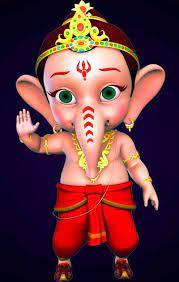 Bal Ganesh, cartoon, devotional, HD ...